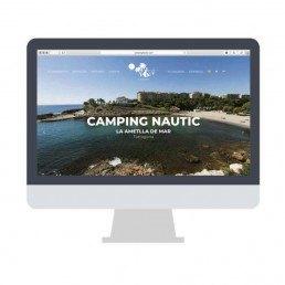Disseny web Camping Nàutic L'ametlla de Mar